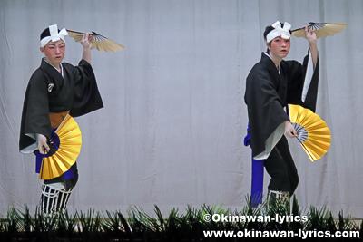 上り口説@今帰仁村湧川区豊年祭