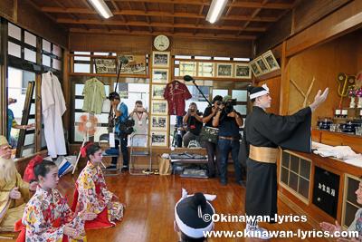 ヌンドゥンチでの琉球舞踊奉納@西原町の棚原酉年12年まーるあしび(豊年祭)