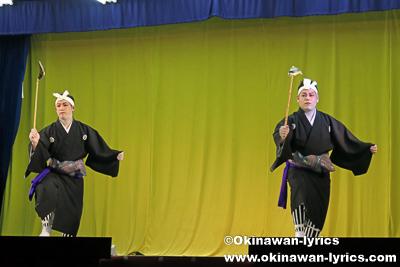 湊くり節@宜野座の八月あしび(豊年祭)