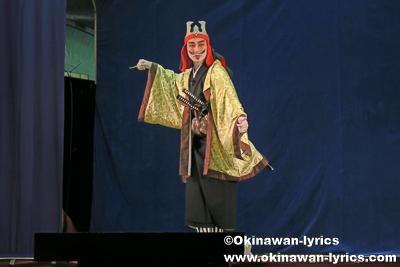 組踊(伏山敵討)@宜野座の八月あしび(豊年祭)