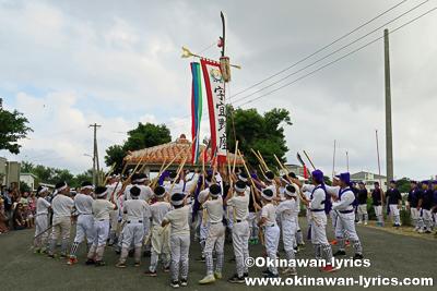 スーマチ(総巻)@宜野座の八月あしび(豊年祭)