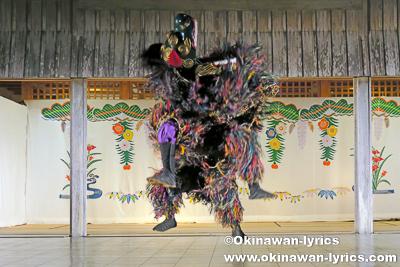 首里汀良町の獅子舞@平成29年度首里城祭・伝統芸能の宴