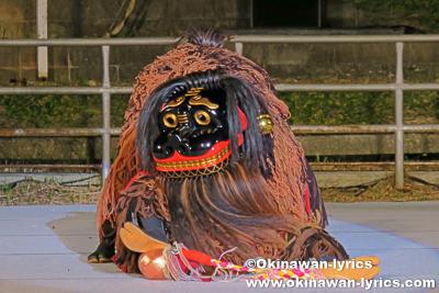 和宇慶獅子舞(中城村)@第32回 全島獅子舞フェスティバル