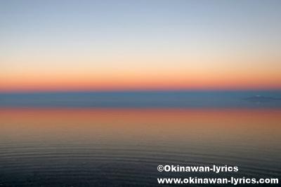 地球の影@ウユニ塩湖