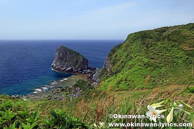 島尻毛散策道(渡名喜島)