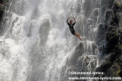 ケプロイの滝(Kepirohi waterfall)@ポンペイ(ミクロネシア連邦)