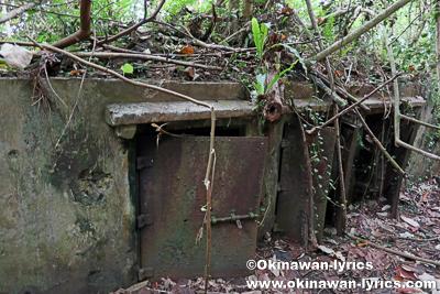 日本軍戦跡(Magazine foundation?)@ランガル島(Lenger island)、ポンペイ(ミクロネシア連邦)
