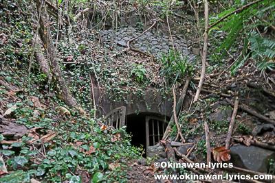 日本軍戦跡(Subterranean Crude Oil Facility)@ランガル島(Lenger island)、ポンペイ(ミクロネシア連邦)