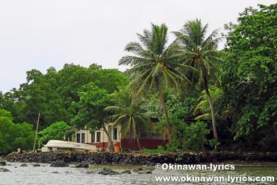 パラム島(Parem island)@ポンペイ(ミクロネシア連邦)