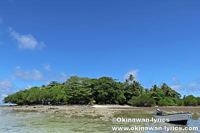 ブラックコーラル島(Kehpara island)@ポンペイ(ミクロネシア連邦)