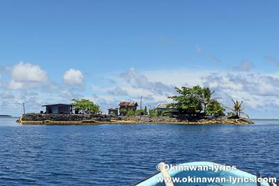 レインボー島(Laiap island)@ポンペイ(ミクロネシア連邦)