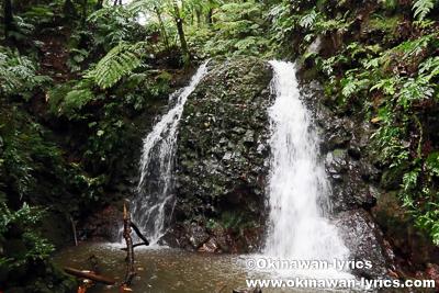 滝@オマ山、コスラエ(ミクロネシア連邦)