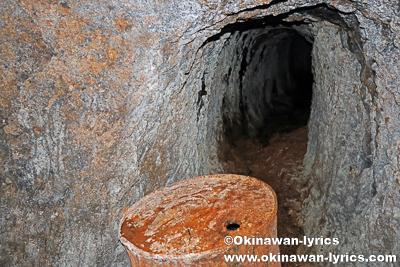 日本軍の洞窟@オマ山、コスラエ(ミクロネシア連邦)