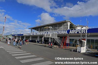 ポートビラ・バウアフィールド国際空港(Port Vila Bauerfield International Airport)@エファテ島(Efate island),バヌアツ
