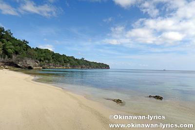 Fred's Beach@モソ島(Moso island),バヌアツ