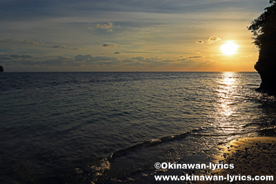 Sunset beach@モソ島(Moso island),バヌアツ