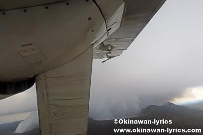 アンブリム島(Ambrym island)の火山,Air Taxi@バヌアツ