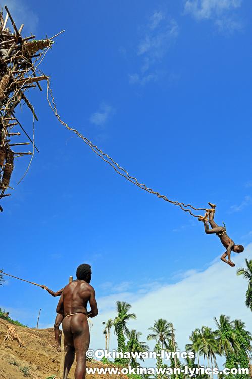 ランドダイビング(Land Diving)@ペンテコスト島(Pentecost island),バヌアツ