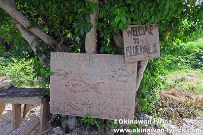 ブルーホール@タンナ島(Tanna island),バヌアツ