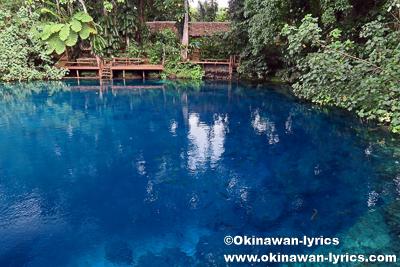 Nanda Blue Hole@サント島(Espiritu Santo Island),バヌアツ