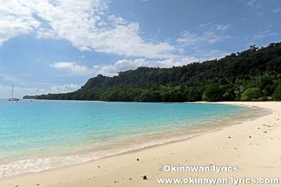 シャンパンビーチ(Champagne Beach)@サント島(Espiritu Santo island),バヌアツ