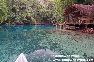 Riri Blue Hole@サント島(Espiritu Santo Island),バヌアツ