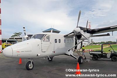 Air Vanuatu@サント空港,サント島(Espiritu Santo Island),バヌアツ