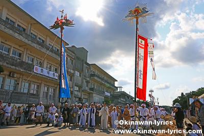 ユーニガイ(世乞い)@平成30年大浜豊年祭,石垣島