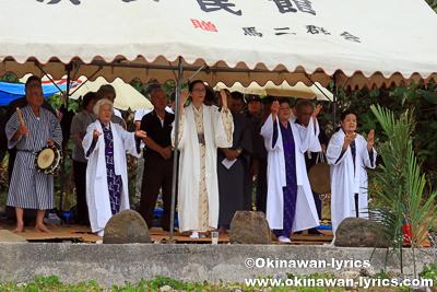 カースンヤー願い@平成30年大浜豊年祭,石垣島