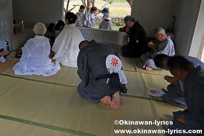 オーセー願い(番所願い)@平成30年大浜豊年祭,石垣島