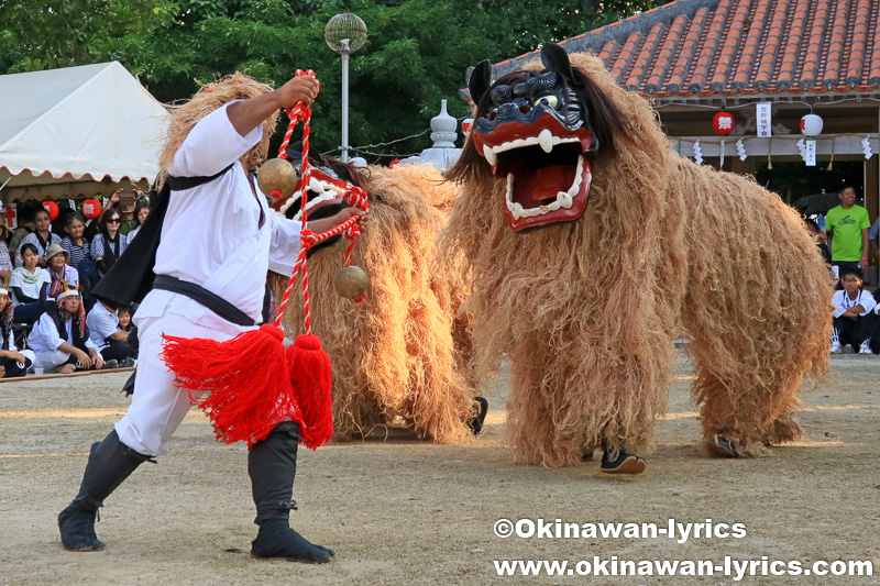 石垣島の登野城と大川の豊年祭(オンプール)