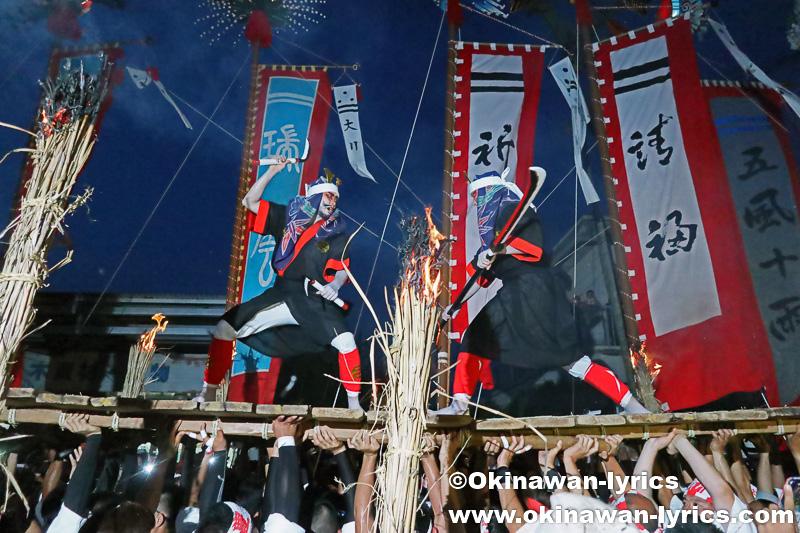 石垣島の四カ字豊年祭(ムラプール)