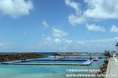 遊泳場@マーレ島,モルディブ