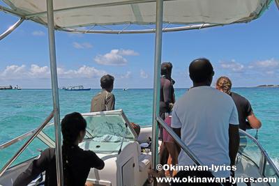 ハニファルベイでシュノーケル@バア環礁,モルディブ