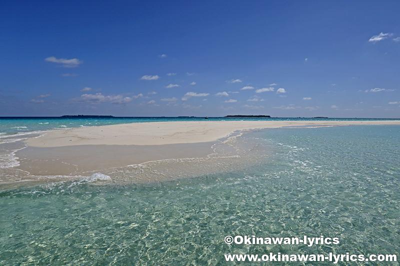 ダラバンドゥ島、ドンファヌ島、フライファル島、サンドバンク@バア環礁、モルディブ