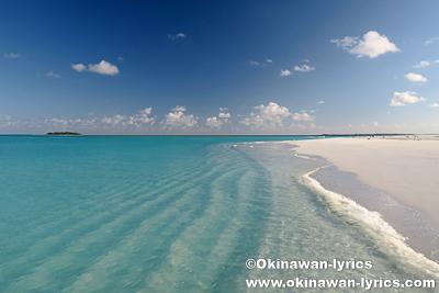 無人島(Huraifaru island)@バア環礁,モルディブ