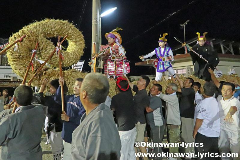 八重瀬町安里の豊年祭