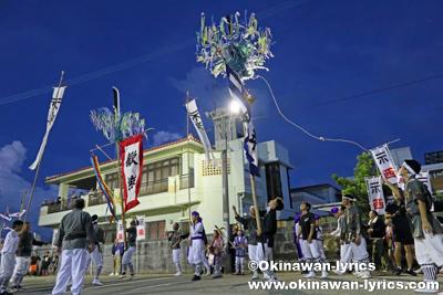旗頭@八重瀬町安里の豊年祭