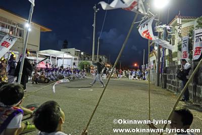 棒術@八重瀬町安里の豊年祭