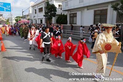 道ジュネー@八重瀬町の志多伯豊年祭