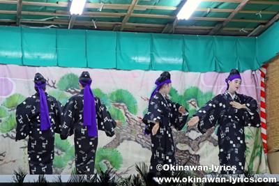 浜千鳥@八重瀬町の志多伯豊年祭