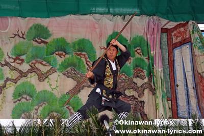 舞方@八重瀬町の志多伯豊年祭