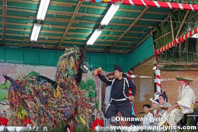 長者の大主@八重瀬町の志多伯豊年祭