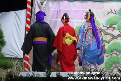 花売の縁@八重瀬町の志多伯豊年祭