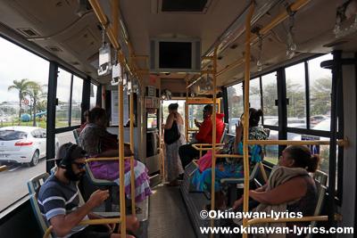 路線バス@ニューカレドニア