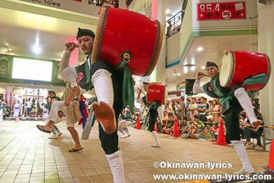 沖縄市東青年会のエイサー@エイサーナイト2019