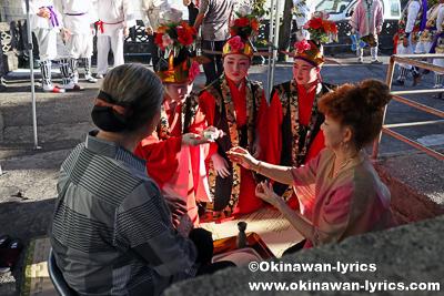 御願@名護市の数久田区豊年祭