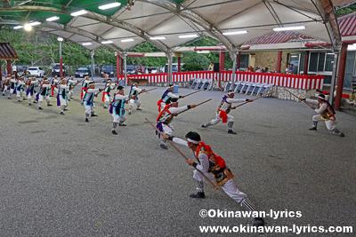 総巻き@名護市の数久田区豊年祭