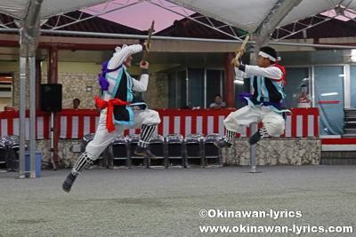 棒術@名護市の数久田区豊年祭