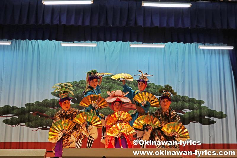 名護市の数久田区豊年祭 その2(琉球舞踊・組踊)